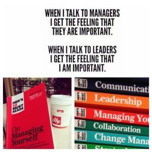 blogg ledelse